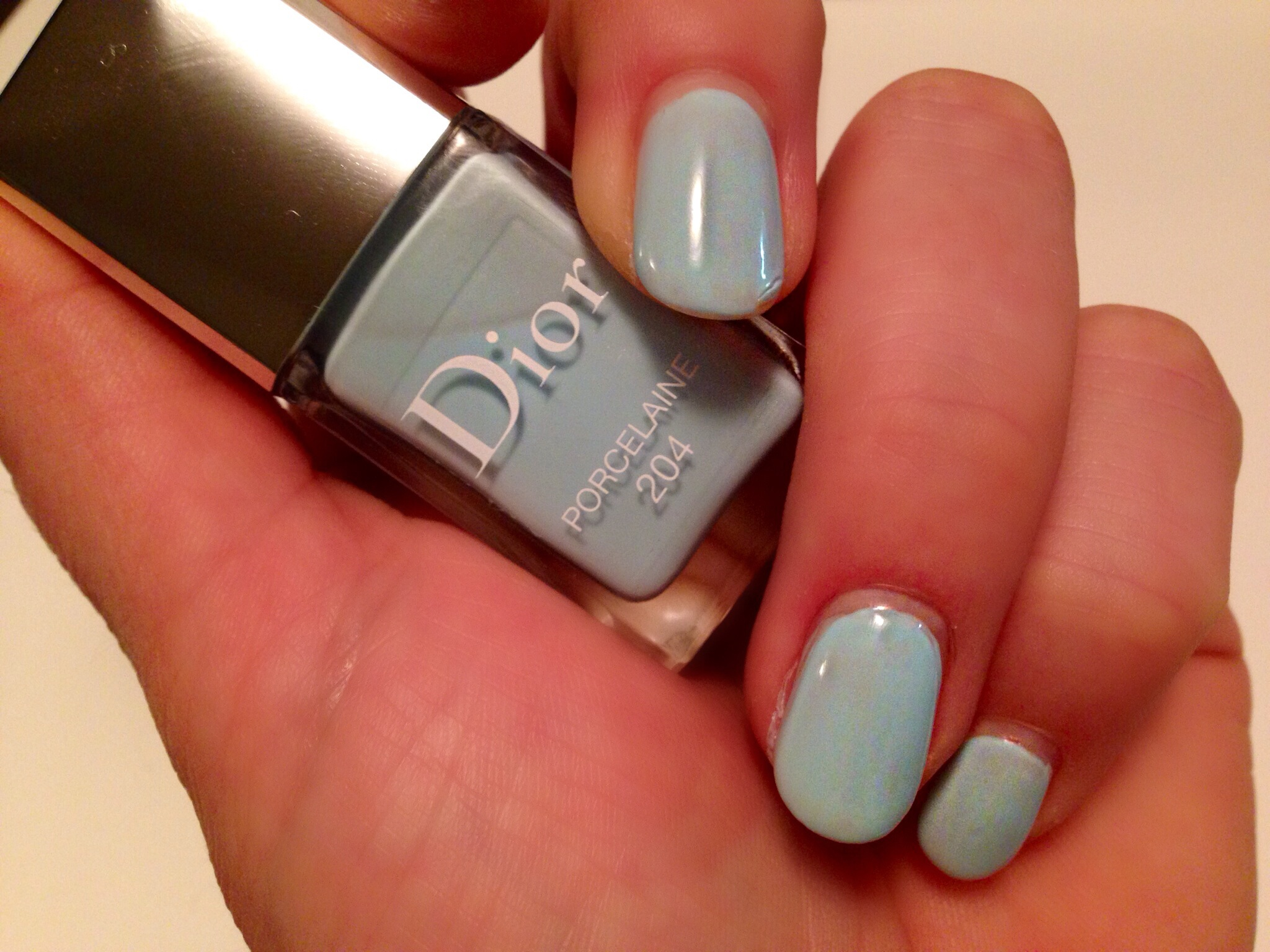 Dior Vernis Porcelaine 204 Nagellack- Trianon Collection Spring 2014 ...