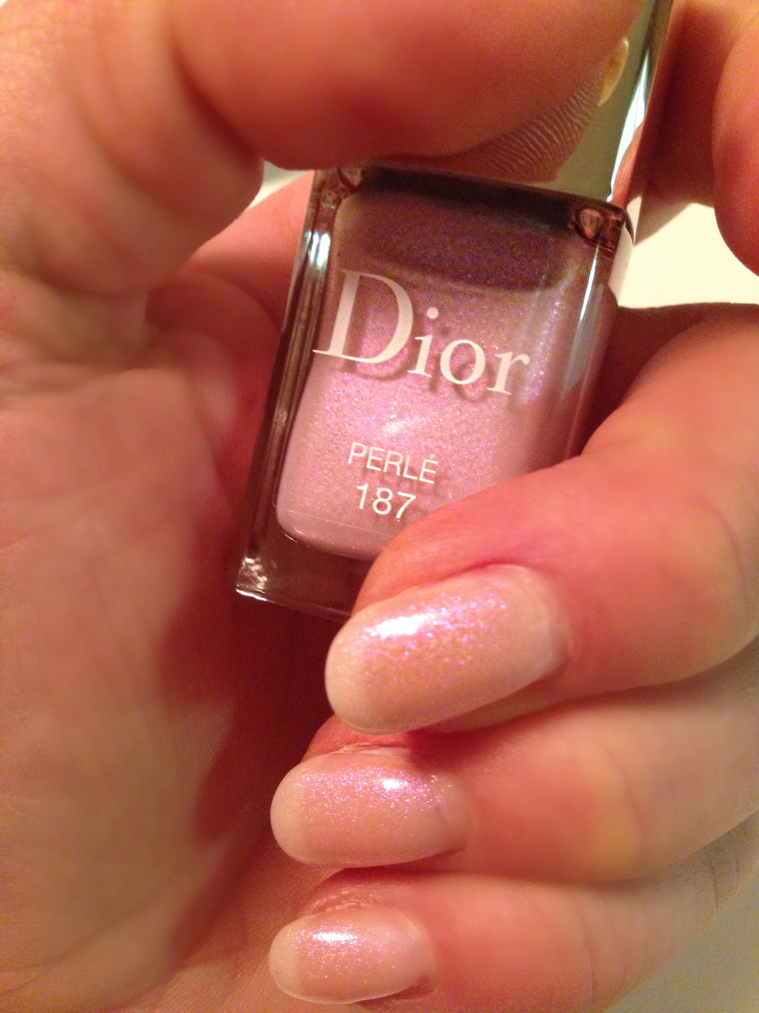 Dior Vernis Perle 187 Nagellack- Trianon Collection Spring 2014 ...